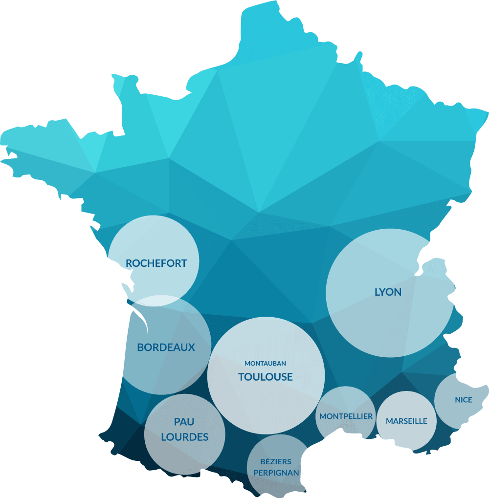 Carte intervention hispacold France